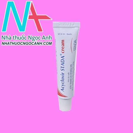 Tuýp thuốc Acyclovir Mibeviru Cream