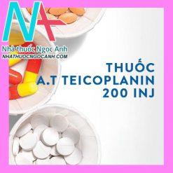 A.T Teicoplanin 200 inj