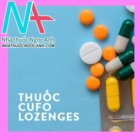 Cufo Lozenges (Black currant)