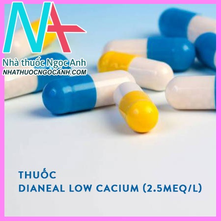 Thuốc Dianeal low cacium (2.5mEq/l) peritoneal dialysis solution with 1.5% dextrose
