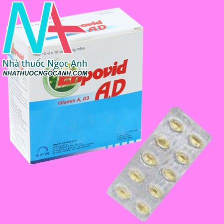 Hộp thuốc Enpovid AD