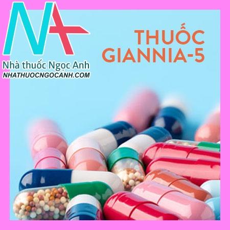 Thuốc Giannia-5