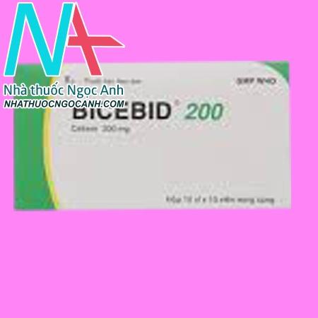 Hộp thuốc Bicebid 200