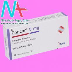 Hộp thuốc Concor 5mg