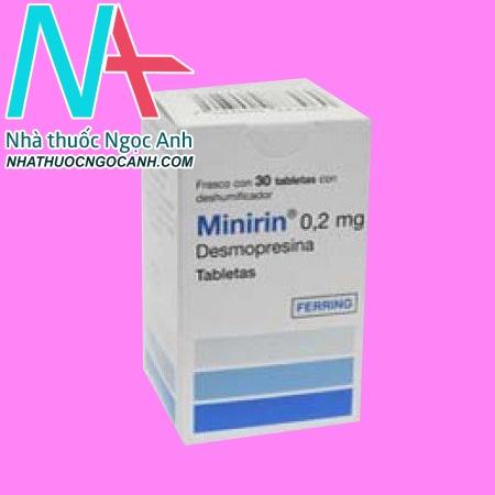 Hộp thuốc Minirin 0.2 mg