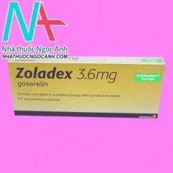 Hộp thuốc Zoladex