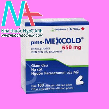 Hộp thuốc pms Mexcold
