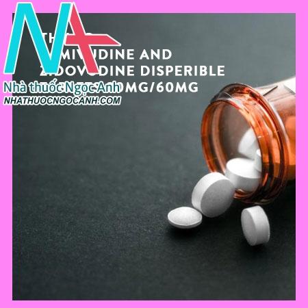 Lamivudine and Zidovudine Disperible Tablets 30mg/60mg