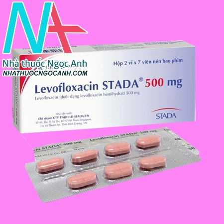 Hộp thuốc Levofloxacin