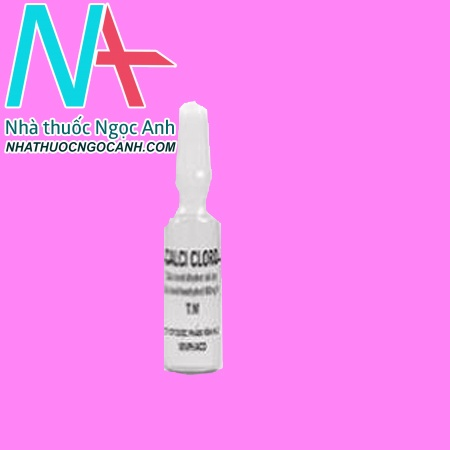 Lọ thuốc Calci clorid
