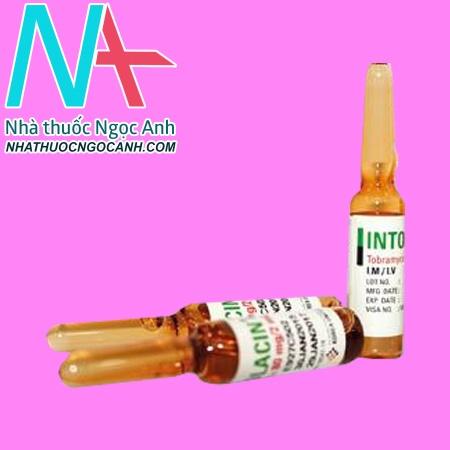 Lọ thuốc tiêm Intolacin