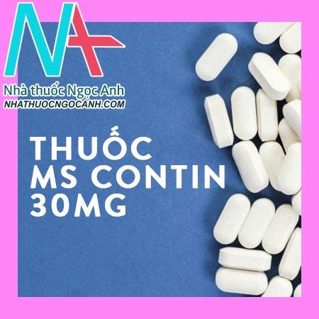 Thuốc MS Contin 30mg