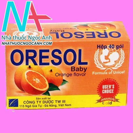 Oresol baby