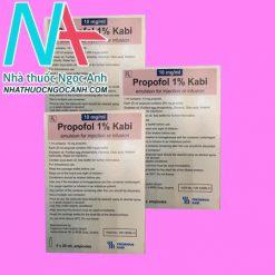 Propofol 1% Kabi