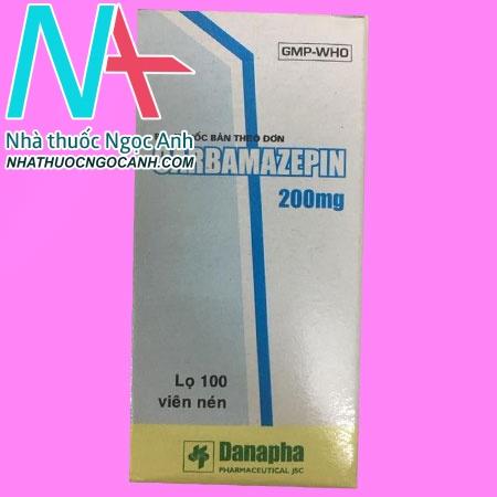 hộp thuốc Carbamazepin