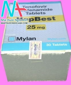 Hộp thuốc HepBest 25mg