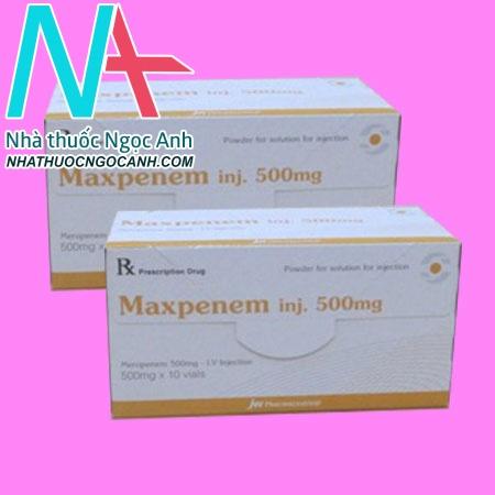 MAXPENEM Injection 500mg