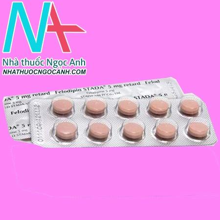 FELODIPIN 5 mg