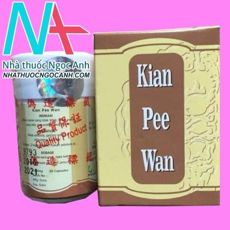 Hộp Thuốc Kian Pee Wan