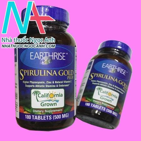 Lọ thuốc Tảo mặt trời Spirulina Gold Plus