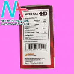 Super Max 4D