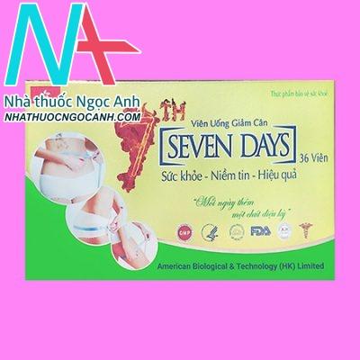 Viên giảm cân Seven Days Slim