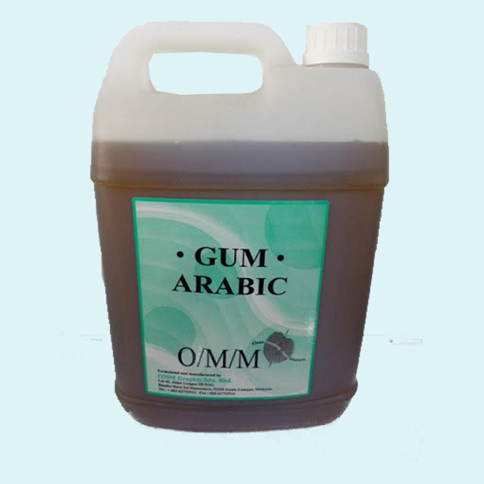 Gôm arabic thể gel