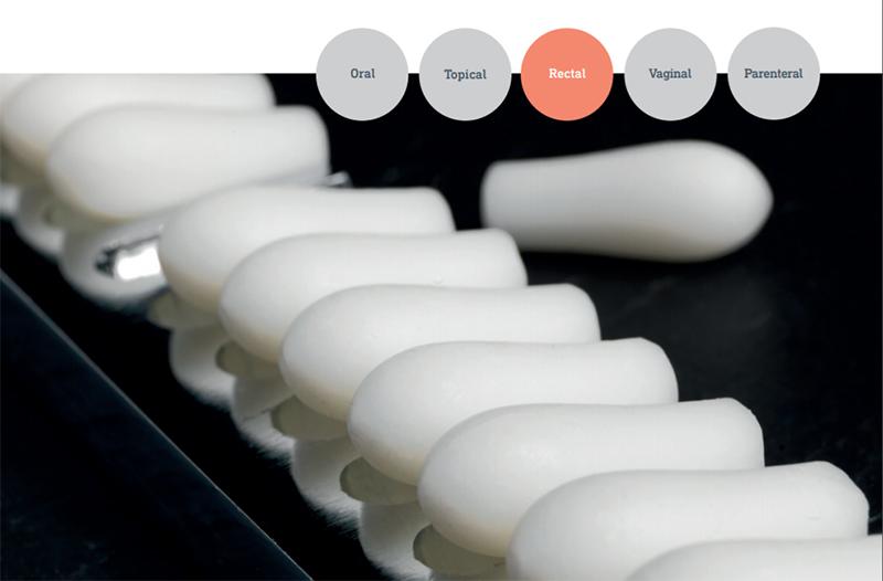 Suppocire được ứng dụng nhiều trong công thức bào chế thuốc đặt