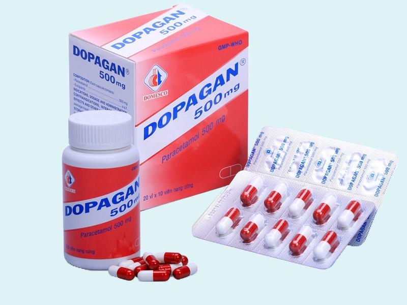 Viên nang Paracetamol 500mg