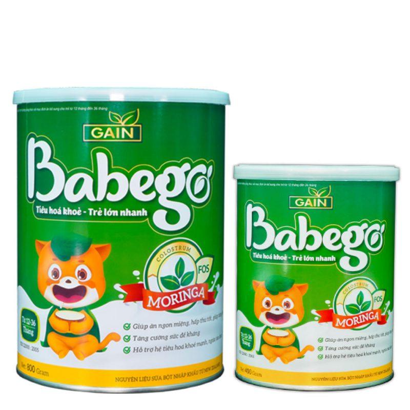 Sữa thảo dược chùm ngây Babego
