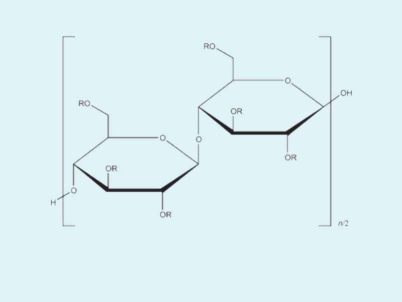 Cấu trúc phân tử của Hydroxyethyl cellulose