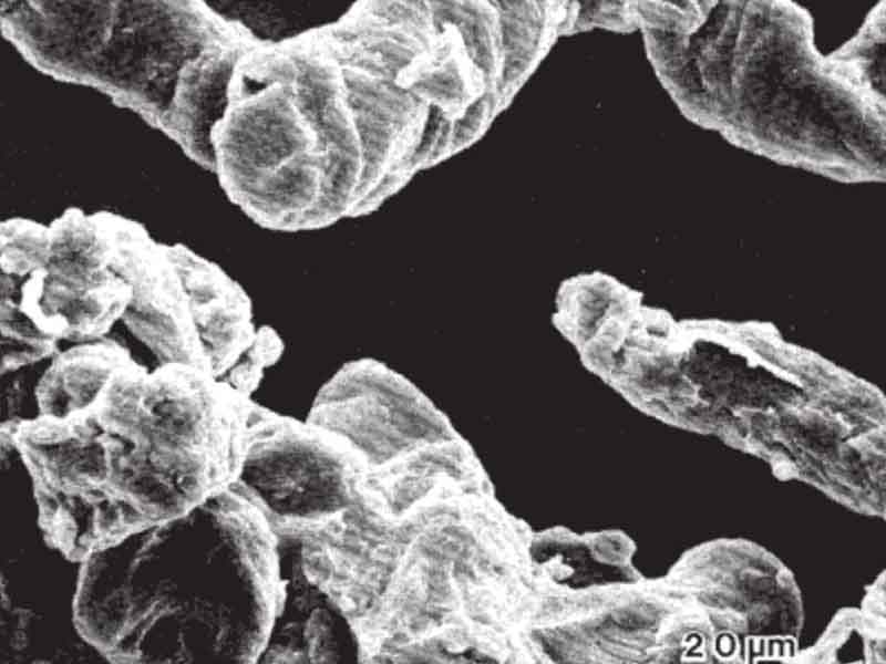 Hình ảnh kính hiển vi của Hydroxyethyl cellulose phóng đại 600