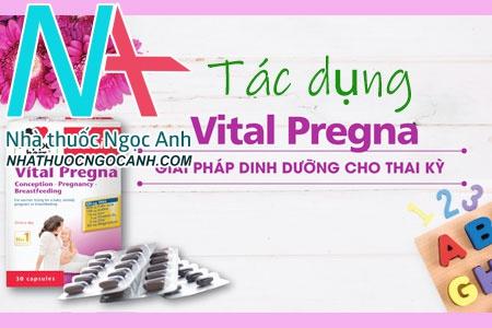 Viên uống Aktiv Vital Pregna có tác dụng gì?