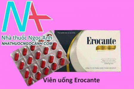 Viên uống mọc tóc Erocante
