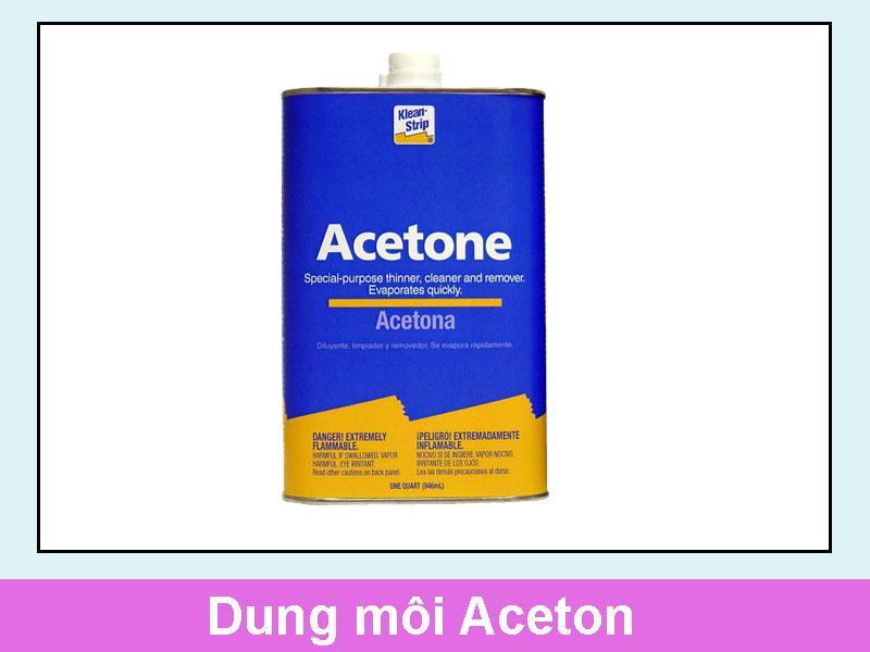 Dung môi Aceton