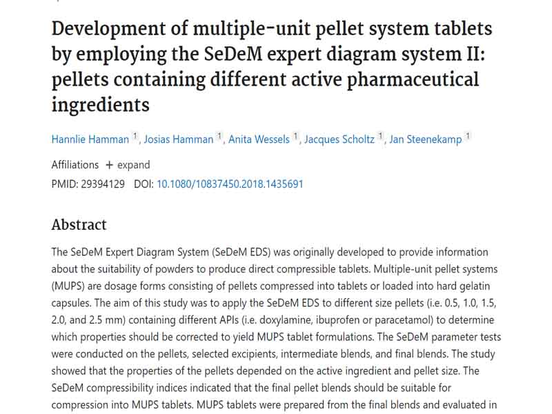 Một nghiên cứu về Pellet