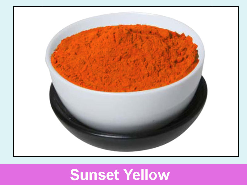 chất màu Sunset Yellow