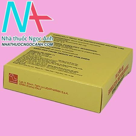 Công dụng - Chỉ định của thuốc tiêm Lisanolona