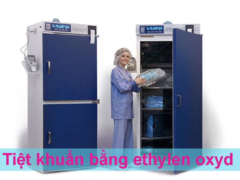 Tiệt khuẩn bằng khí Etylen oxyd