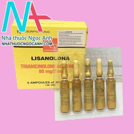 Thuốc Lisanolona là thuốc gì?