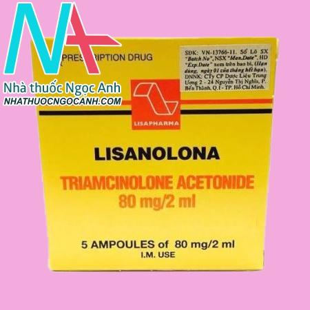 Tác dụng phụ của thuốc Lisanolona