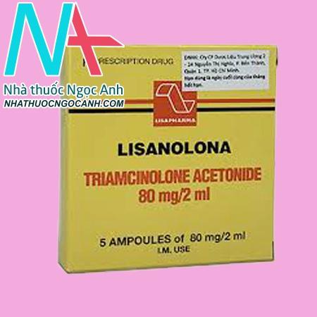 Tương tác thuốc Lisanolona