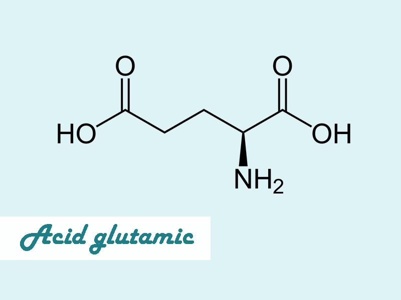 Công thức của acid glutamic
