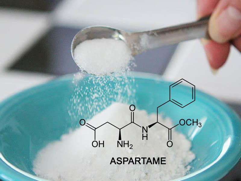 Cấu trúc phân tử của Aspartame