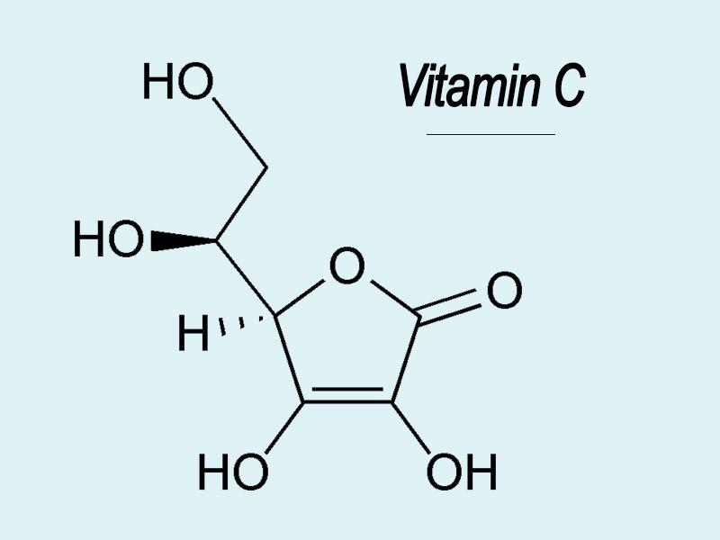 Cấu trúc hóa học của Vitamin C