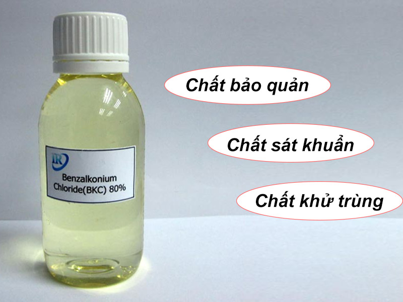 Chức năng của Benzalkonium Chloride