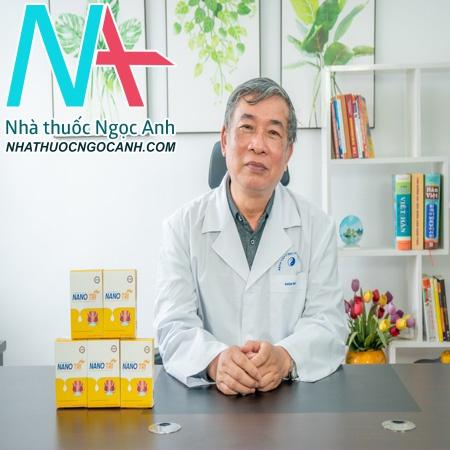 Hình ảnh Bác Sĩ -Lân cùng sản phẩm Nano Tri