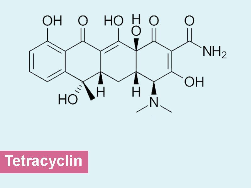 Công thức kháng sinh tetracyclin