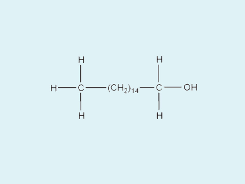 Công thức hóa học của Cetyl Alcohol