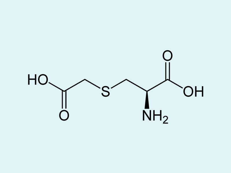 Công thức cấu tạo của carbocistein